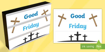 Good Friday Light Box Inserts - Religion, good friday light box inserts, good friday, light box inserts, crucifixion, jesus, Austral