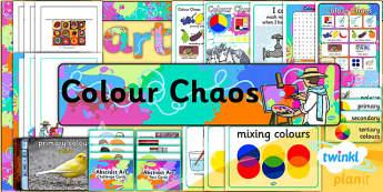 Art: Colour Chaos: KS1 Unit Additional Resources