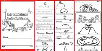 Christmas Activity Photocopy Pack - christmas, activity, photocopy, pack