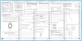 Year 3 Maths Reasoning Test Set 3 Assessment Pack - assessment, mastery, summer,