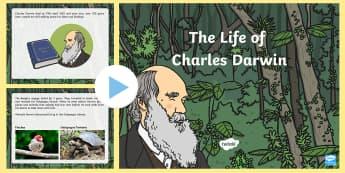 Charles Darwin PowerPoint - charles darwin, powerpoint, evolution
