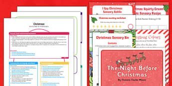 Childminder Christmas Activity Web and Resource Pack - childminder, christmas, activity, pack