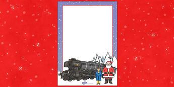 Christmas Train Journey Editable Posters - christmas, train, journey, editable, posters, display