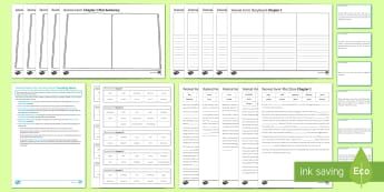 Plot Activity Pack to Support Teaching on 'Animal Farm' by George Orwell - Animal Farm, plot, narrative