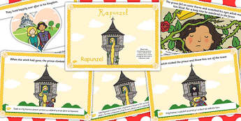 Rapunzel Story EAL Romanian Translation Version - romanian, story