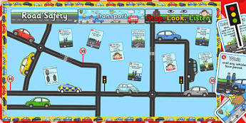 Ready Made Transport Road Safety Display Pack - ready made, pack