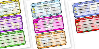 Themed Two Stars and a Wish Comment Labels Safari - Themed Labels, Labels, Safari Themed, Two Stars And A Wish, Comment Labels, Safari Labels