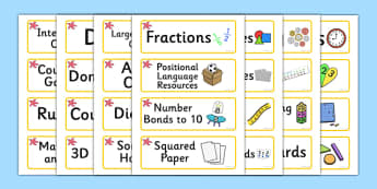 Starfish Themed Editable Maths Area Resource Labels - Themed maths resource labels, maths area resources, Label template, Resource Label, Name Labels, Editable Labels, Drawer Labels, KS1 Labels, Foundation Labels, Foundation Stage Labels, Teaching La