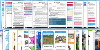 EYFS Aspect 1: Environmental Sounds Adult Input Planning and Resource Pack