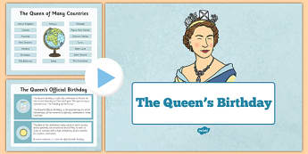 The Queen's Birthday Presentation - queen birthday, official, 90th