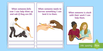 How to Be a Great Friend Cards - Requests SEN, ks3, ks4, friends, social