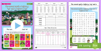 Year 1 Term 1A Week 4 Spelling Pack - Spelling Lists, Word Lists, Autumn Term, List Pack, SPaG