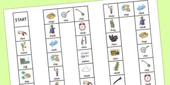CL Board Game - cl, board game, board, game, sen, sound, cl sound, speech, language