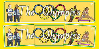 The Olympics Display Banner - nz, new zealand, Olympics, Olympic Games, sports, Olympic, London, 2012, display, banner, poster, sign, Olympic torch, flag, countries, medal, Olympic Rings, mascots, flame, compete, tennis, athlete, swimming, race