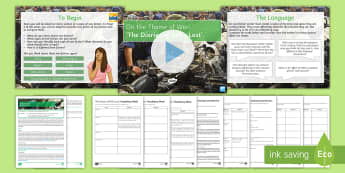 AQA English Language P2 Lesson Pack to Support Teaching on'The Diaries of Nella Last'  - AQA P2 Reading Booklet, Nella Last, diaries, AQA English Language, GCSE English exam, exam revision,
