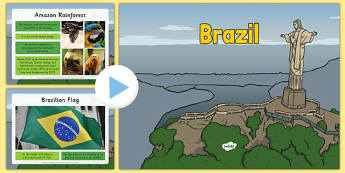 Brazil Information PowerPoint - brazil, brazil powerpoint, information about brazil, brazil information powerpoint, places, around the world, countries
