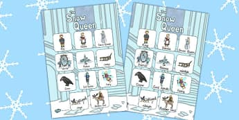 The Snow Queen Vocabulary Poster - posters, displays, display