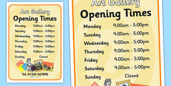 Art Gallery Role Play Opening Times - art gallery, role play, opening times, art gallery opening times, role play opening times,, art gallery role play
