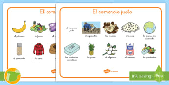 Tapiz de vocabulario: Comercio Justo - Fairtrade, comercio justo, vocabulario, tapiz, té, agricultor, agricultura, comercio, países en de
