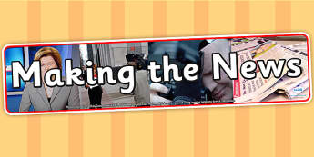 Making the News Photo Display Banner - making the news, IPC display banner, IPC, the news display banner, IPC display, the news IPC banner