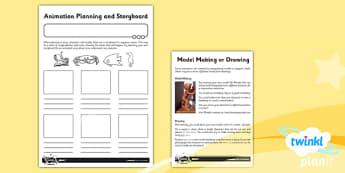 PlanIt - Computing Year 4 - Animation Unit Home Learning Tasks - planit, computing, unit