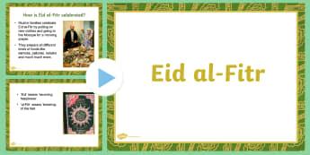 Eid PowerPoint - ESL Eid Resources