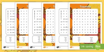 Toamna Careu de cuvinte  - scriere, cuvinte cheie, anotimpuri, despre toamnă, scriere creativă, septembrie,Romanian