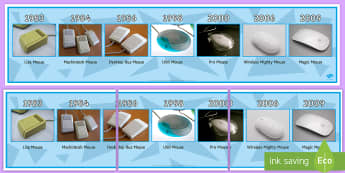 Apple Mice Display Timeline - mouse, apple, iterative design, styrofoam, prototype, GCSE design & technology, OCR design & technol