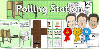 2015 Polling Station Role Play Pack - polling, station, roleplay, pack