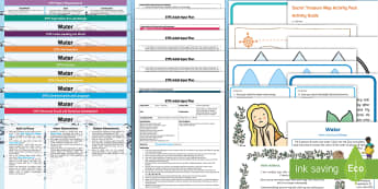 EYFS Water Bumper Planning Pack - early years planning, adult led, carpet time, reception, Nursery, continuous provision, enhancements