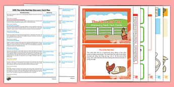 EYFS The Little Red Hen Discovery Sack Plan and Resource Pack - discovery sack, little red hen