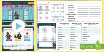 Year 4 Term 1B Week 4 Spelling Pack - Spelling Lists, Word Lists, Autumn Term, List Pack, SPaG