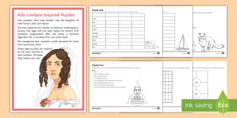 Ada Lovelace Day: Daily Maths Puzzle - puzzle, engineering, code, maths, kS3, kS4, Babbage, Analytical Engine, enigma,