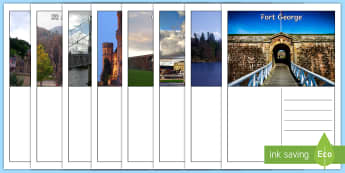 Inverness Postcards - Scottish Cities, city, Scotland, writing, tourism, landmarks, tourists,Scottish