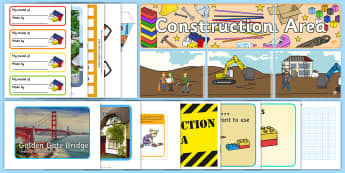 EYFS Construction Area Classroom Set Up Pack - eyfs, construction, area