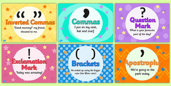Punctuation Posters - Punctuation posters, punctuation, posters, display poster, punctuation display, punctuation display poster