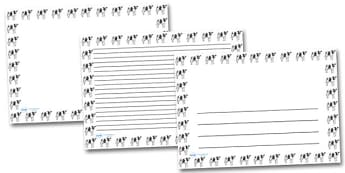Cow Landscape Page Borders- Landscape Page Borders - Page border, border, writing template, writing aid, writing frame, a4 border, template, templates, landscape