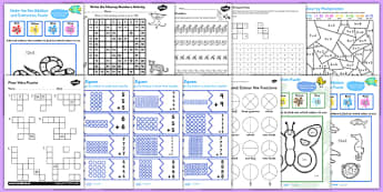 TA Maths Puzzle Pack for KS1 - ta, teaching assistant, maths, puzzle, pack, ks1