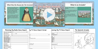 The Spanish Armada Resource Pack - Spanish Armada Pack, Spanish, Armada