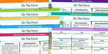 EYFS Farm Themed Lesson Plan And Enhancement Ideas - farm, lesson plan, EYFS, ideas