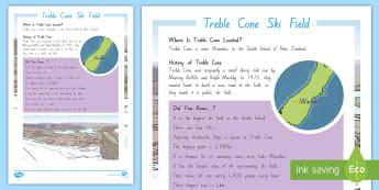 Treble Cone Ski Field Fact File - New Zealand, Winter, Seasons, Snow, Skiing, Snowboarding, Mountains, Ski Fields, Snow Day, Treble Co
