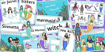 The Little Mermaid Story Sack - stories, story books, reading