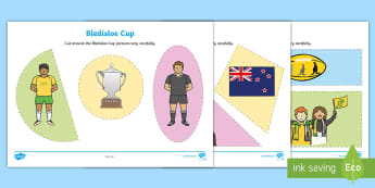 Bledisloe Cup Cutting Skills Activity Sheet - bledisloe cup, cutting, scissors, precision, shape, shapes, 2D, ,Australia