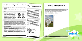 D&T: Let's Go Fly a Kite LKS2 Unit Home Learning Tasks