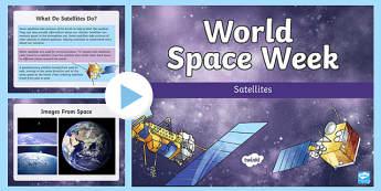 Satellites PowerPoint