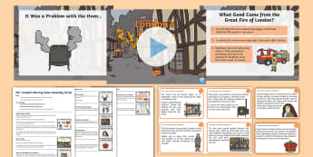 KS1 London's Burning Class Assembly Pack - the great fire of london, history, drama, feelings, non fiction