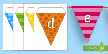 Multicolour Alphabet Display Bunting - multicolour, alphabet, display bunting, alphabet bunting, multicolour alphabet bunting, display bunting, alphabet buntin