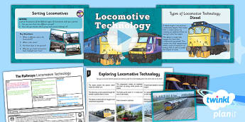 History: The Railways: Locomotive Technology LKS2 Lesson Pack 6
