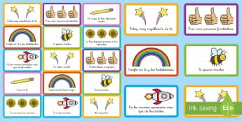 Pegatinas: Comentarios positivos - emociones, educación emocional, inteligencia emocional, problemas de comportamiento, autoestima, au