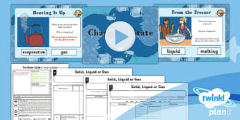 Geography: Water: Changing State Year 4 Lesson Pack 1